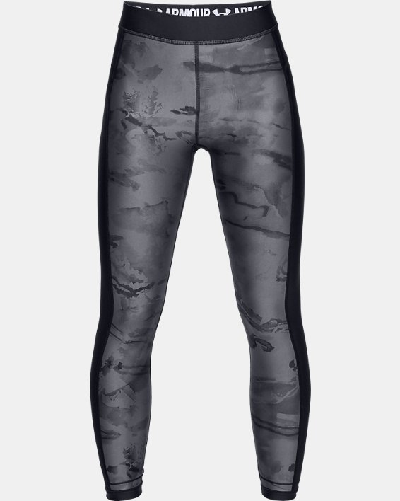 Women's UA Tide Chaser Leggings, Black, pdpMainDesktop image number 3