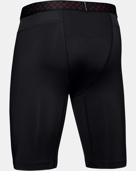 Short de compression UA RUSH pour homme, Black, pdpMainDesktop image number 5