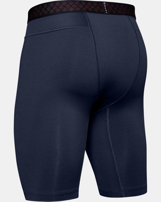 Men's UA RUSH™ Compression Shorts, Navy, pdpMainDesktop image number 5