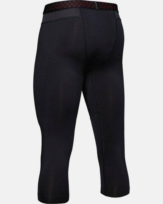 Men's UA RUSH™ ¾ Leggings, Black, pdpMainDesktop image number 5