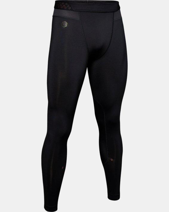 Men's UA RUSH™ Leggings, Black, pdpMainDesktop image number 4