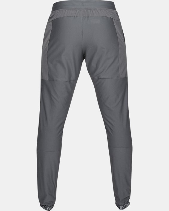 Men's UA Vanish Hybrid Pants, Gray, pdpMainDesktop image number 4