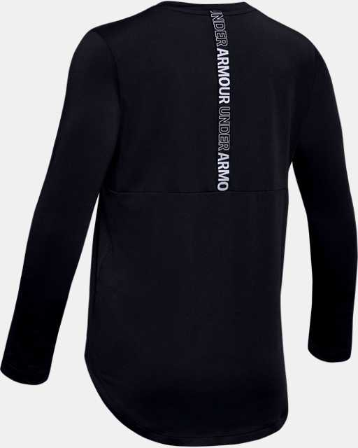 Girls' HeatGear® Armour Long Sleeve