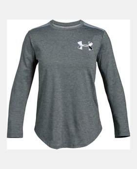a4152a51 Girls' HeatGear® Armour Long Sleeve 1 Color Available $26.99
