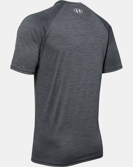 Men's UA Velocity Short Sleeve, Black, pdpMainDesktop image number 5