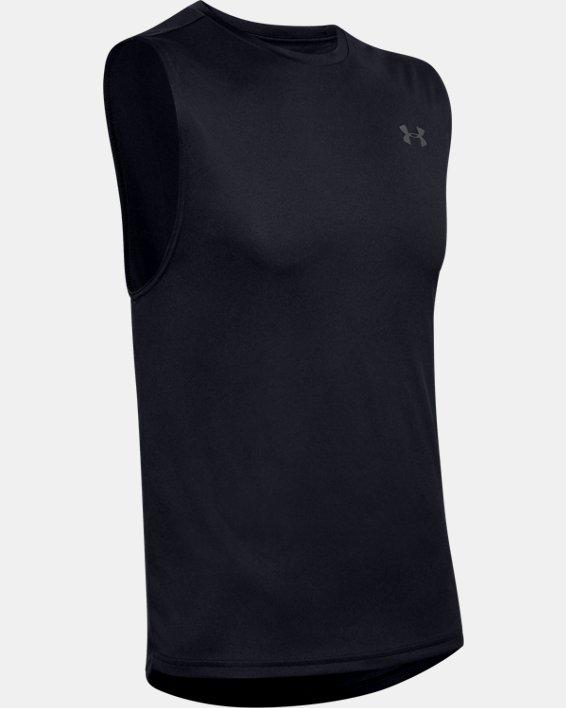 Men's UA Velocity Muscle Tank, Black, pdpMainDesktop image number 4