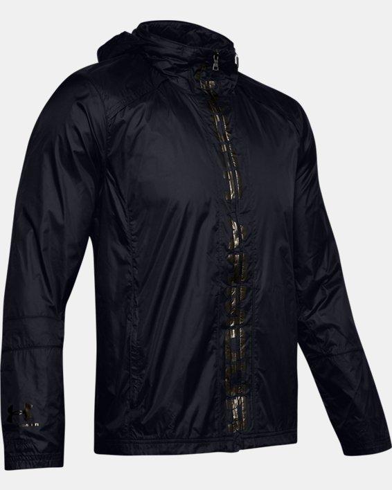 Men's UA Storm Accelerate Pro Shell Jacket, Black, pdpMainDesktop image number 4