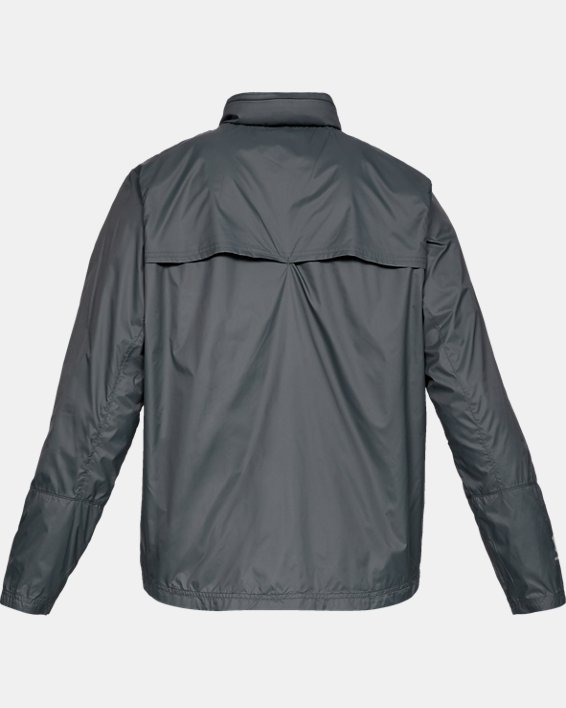 Men's UA Storm Accelerate Pro Shell Jacket, Gray, pdpMainDesktop image number 5