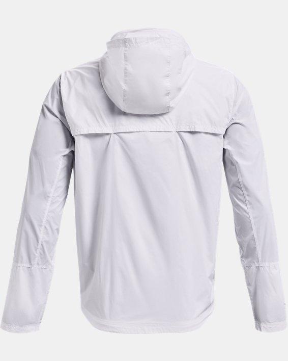Men's UA Storm Accelerate Pro Shell Jacket, White, pdpMainDesktop image number 4