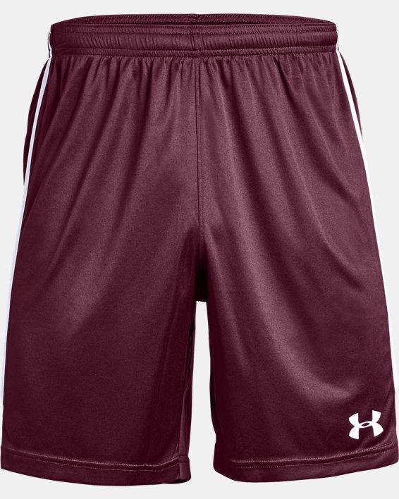 Men's UA Maquina 2.0 Shorts, Red, pdpMainDesktop image number 4