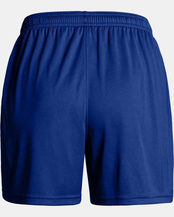 Women's UA Maquina 2.0 Shorts, Blue, pdpMainDesktop image number 4