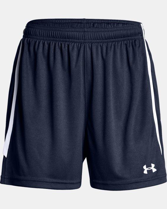 Women's UA Maquina 2.0 Shorts, Navy, pdpMainDesktop image number 3