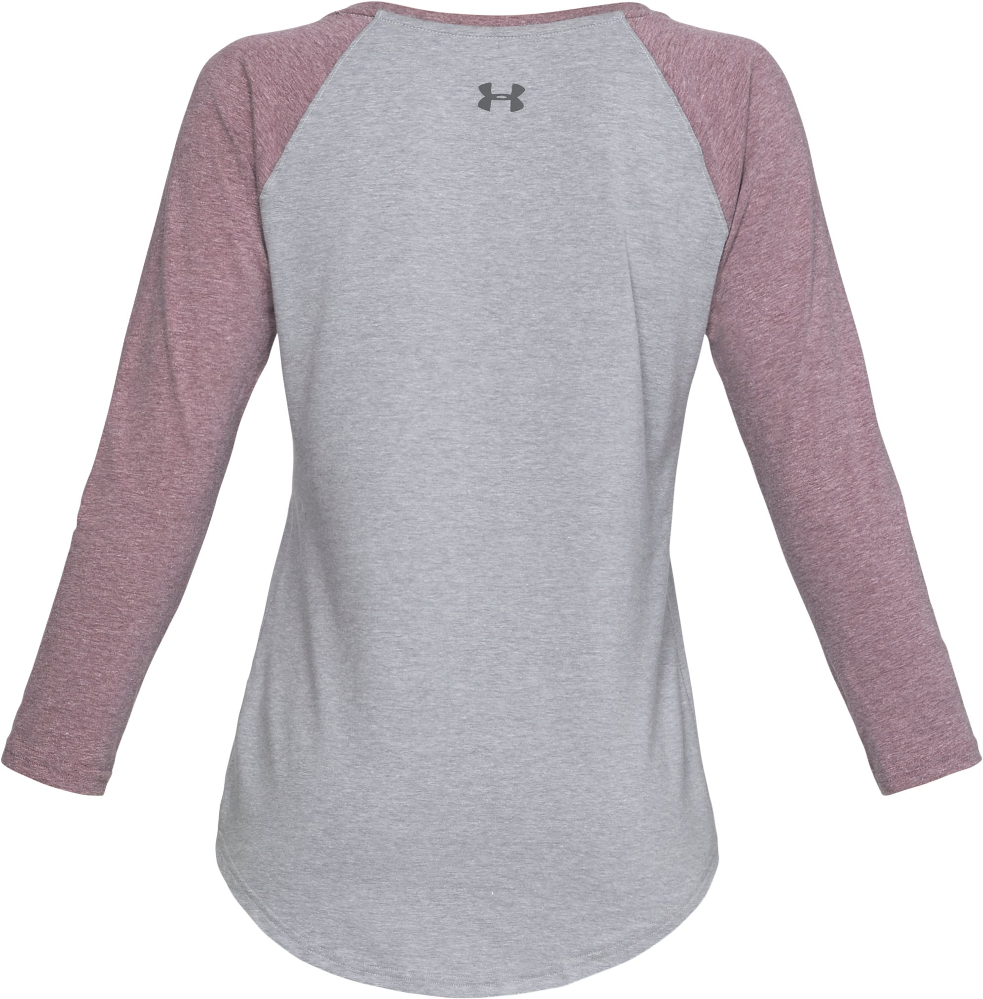 Women's UA Outdoor Utility T-Shirt, STEEL LIGHT HEATHER,