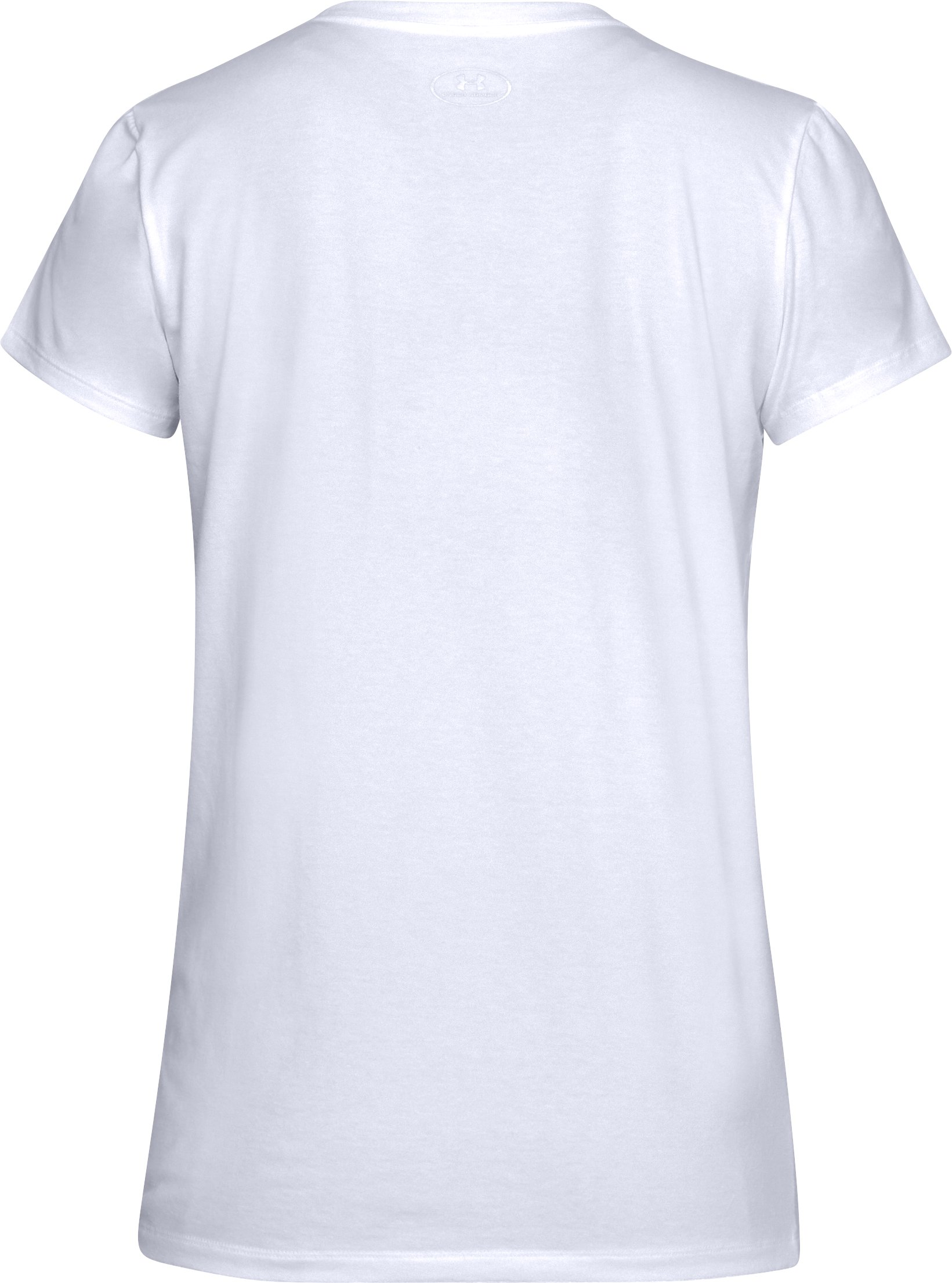 Women's UA x Project Rock H&H T-Shirt, White,