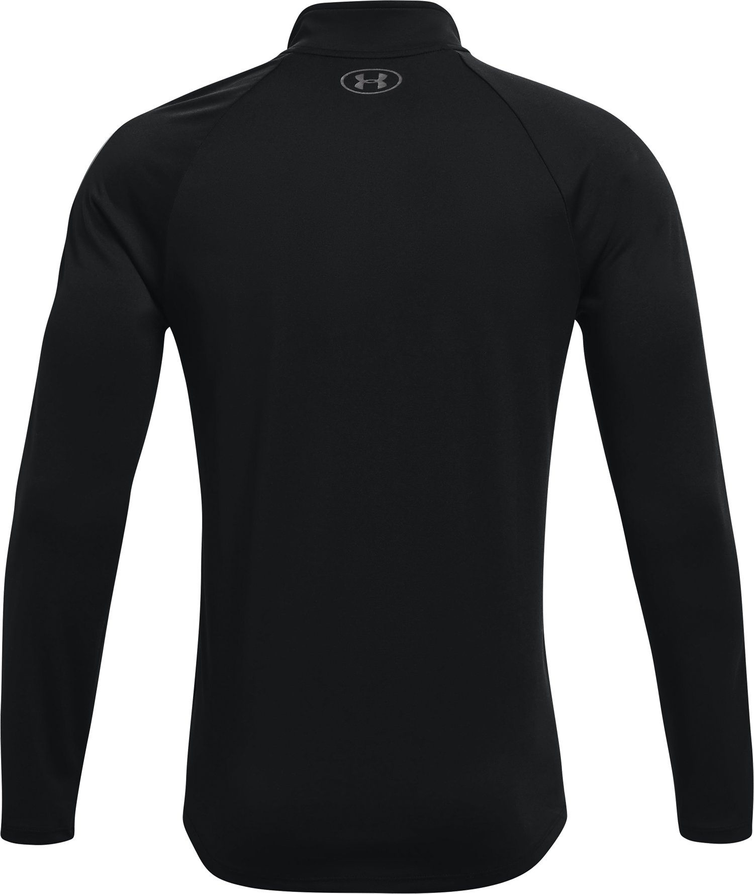 Men's UA Tech™ ½ Zip Long Sleeve, Black ,