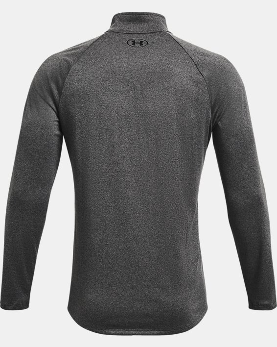 Men's UA Tech™ ½ Zip Long Sleeve, Gray, pdpMainDesktop image number 6