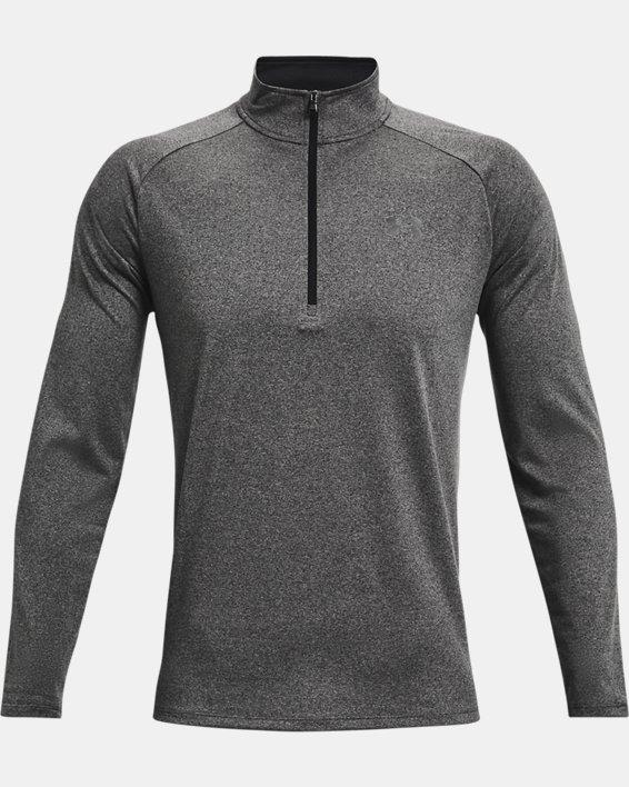 Men's UA Tech™ ½ Zip Long Sleeve, Gray, pdpMainDesktop image number 5