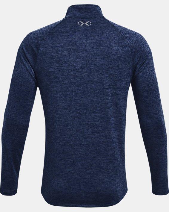 Herren UA Tech™ Langarm-Shirt mit ½-Zip, Navy, pdpMainDesktop image number 5