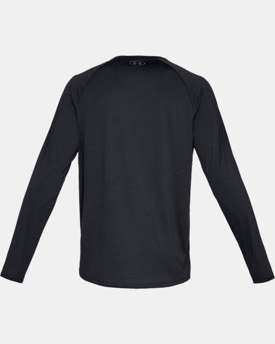 Men's UA Tech™ Long Sleeve, Black, pdpMainDesktop image number 5
