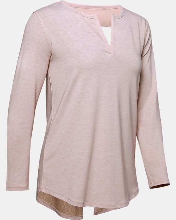 Haut à manches longues Athlete Recovery Sleepwear™ pour femme, Pink, pdpMainDesktop image number 3