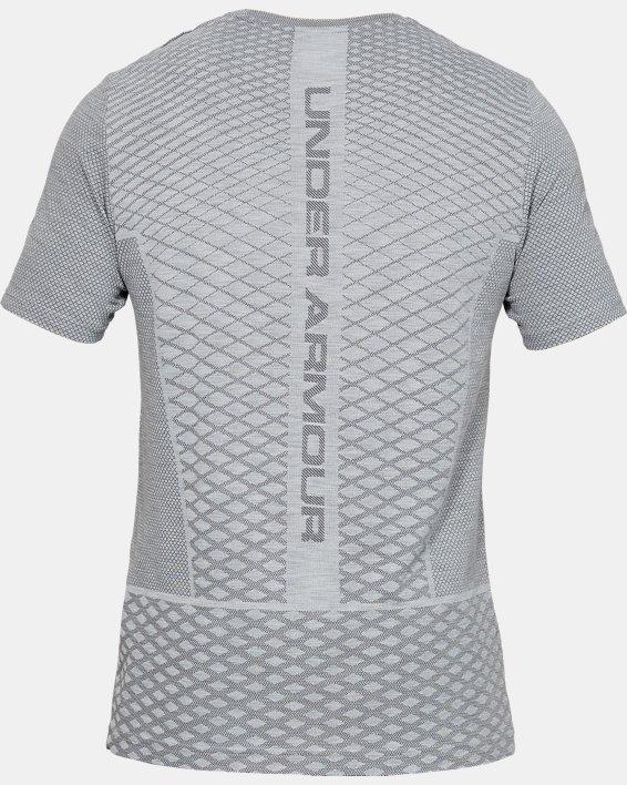 Men's UA Vanish Seamless Short Sleeve, Gray, pdpMainDesktop image number 5