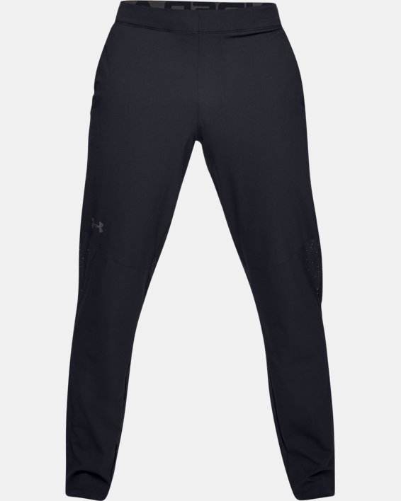 Men's UA Vanish Woven Pants, Black, pdpMainDesktop image number 6