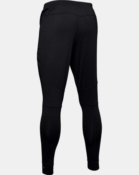 Men's UA RUSH™ Fitted Pants, Black, pdpMainDesktop image number 6