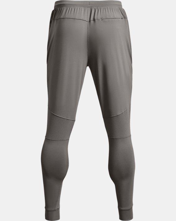 Men's UA RUSH™ Fitted Pants, Gray, pdpMainDesktop image number 4