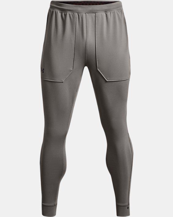 Men's UA RUSH™ Fitted Pants, Gray, pdpMainDesktop image number 3