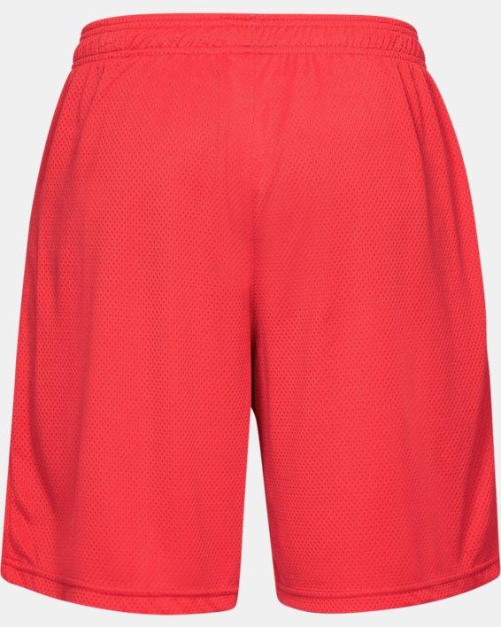 Men's UA Tech™ Mesh Shorts, Red, pdpMainDesktop image number 6