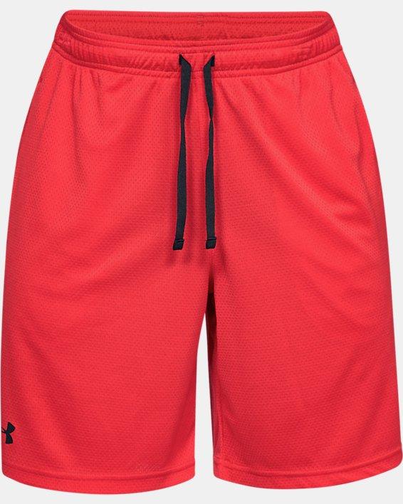 Men's UA Tech™ Mesh Shorts, Red, pdpMainDesktop image number 5