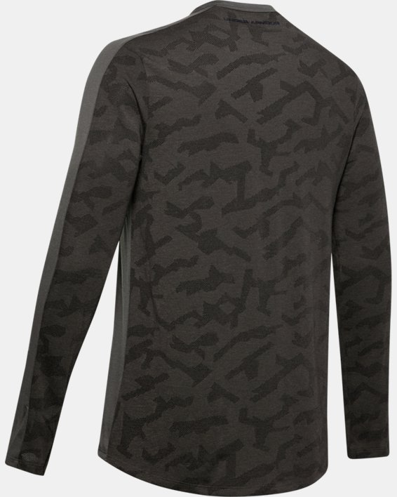 Men's UA Siro Elite Long Sleeve, Gray, pdpMainDesktop image number 4