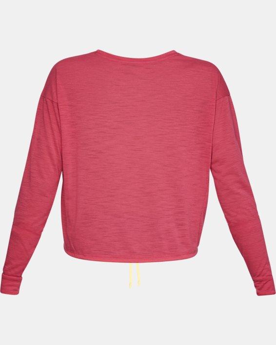 Women's UA Whisperlight Crop Cover Up, Pink, pdpMainDesktop image number 4