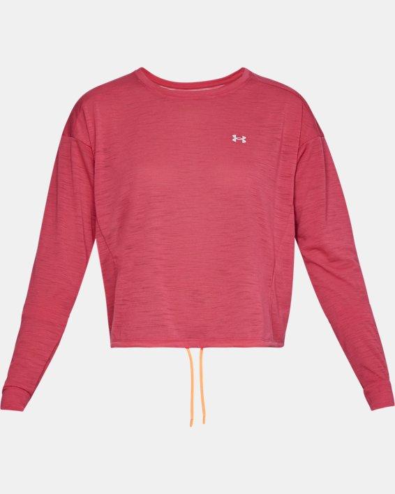 Women's UA Whisperlight Crop Cover Up, Pink, pdpMainDesktop image number 3