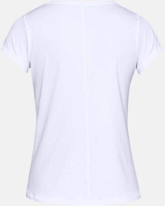T-shirt à manches courtes HeatGear® Armour pour femme, White, pdpMainDesktop image number 4