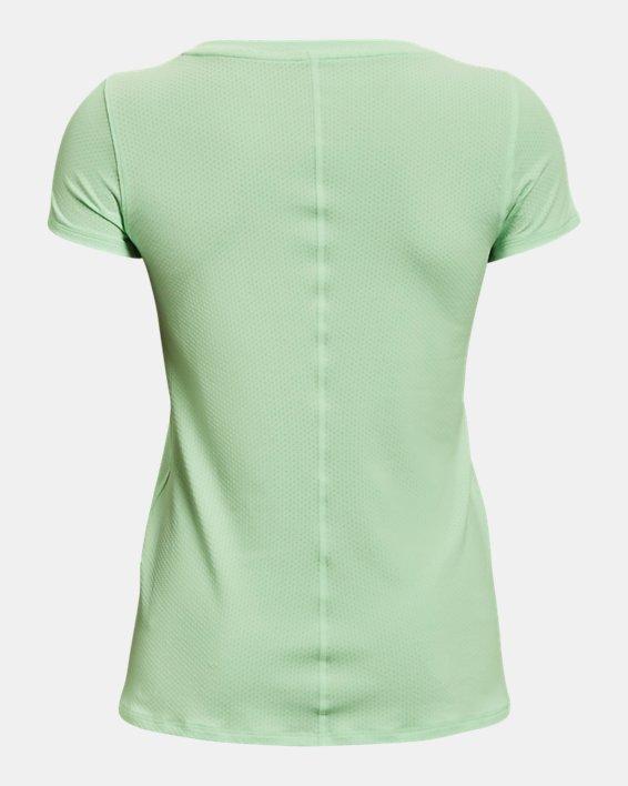 Women's HeatGear® Armour Short Sleeve, Green, pdpMainDesktop image number 5