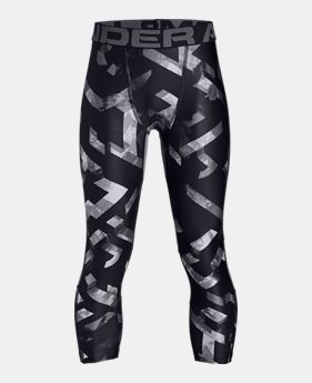 4076834ca52835 Boys  HeatGear® Armour ¾ Printed Leggings 1 Color Available  35. 1 Color  Available. Black