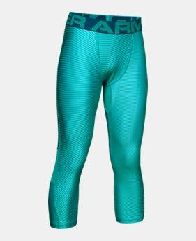b0314ac8546c4 Boys' HeatGear® Armour ¾ Printed Leggings 2 Colors Available $35