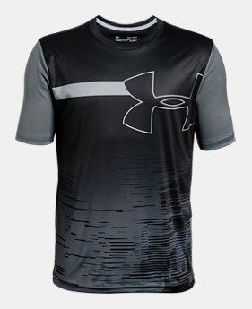 ee9541d51b Boys' UA Sun Armour Short Sleeve 1 Color Available $30