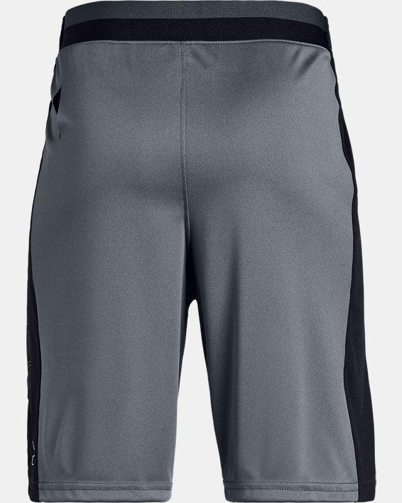 Boys' UA Stunt 2.0 Shorts, Gray, pdpMainDesktop image number 5