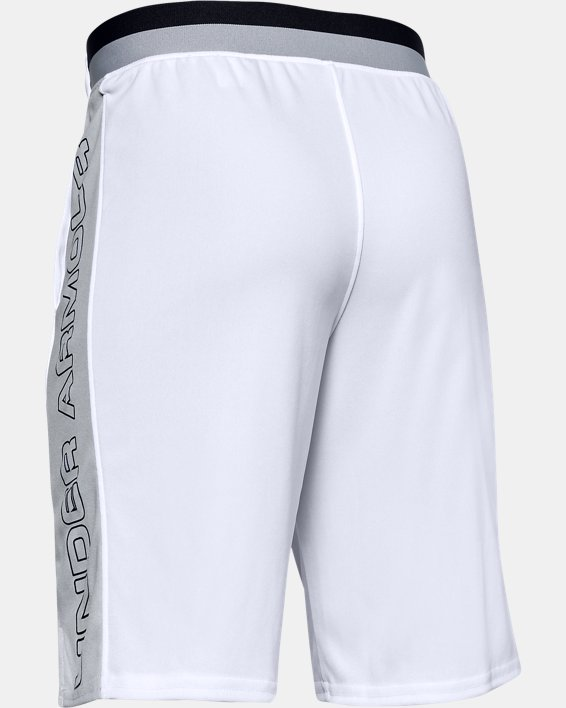 Boys' UA Stunt 2.0 Shorts, White, pdpMainDesktop image number 1