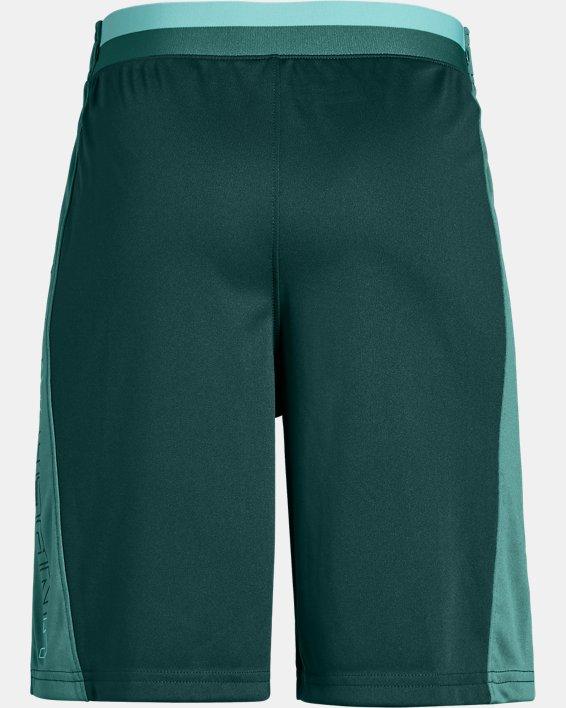 Boys' UA Stunt 2.0 Shorts, Green, pdpMainDesktop image number 1
