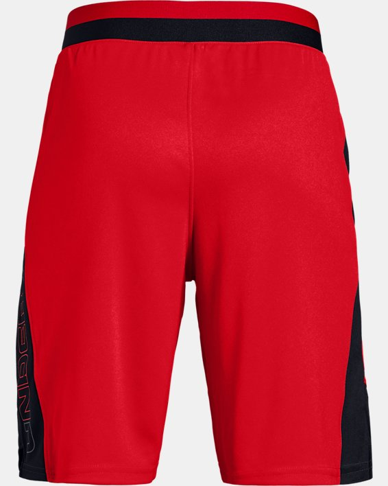 Boys' UA Stunt 2.0 Shorts, Red, pdpMainDesktop image number 5