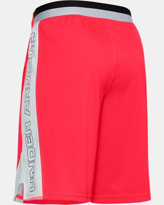 Boys' UA Stunt 2.0 Shorts, Red, pdpMainDesktop image number 1