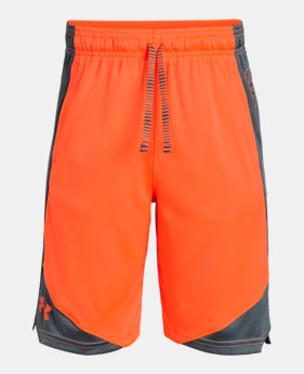 ee13942ac915 Boys' UA Stunt 2.0 Shorts LIMITED TIME: 25% OFF 2 Colors Available $17.99