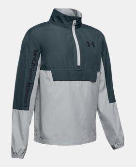 ba41d1a839ed4 Boys' UA Woven Anorak Jacket 2 Colors Available $50