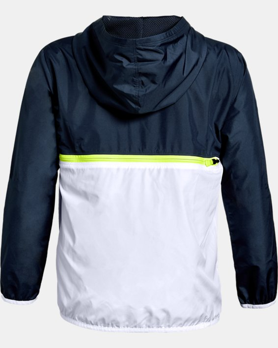 Veste UA Sackpack ½ Zip, Navy, pdpMainDesktop image number 1