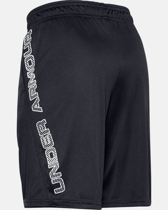 Boys' UA Velocity Shorts, Black, pdpMainDesktop image number 1