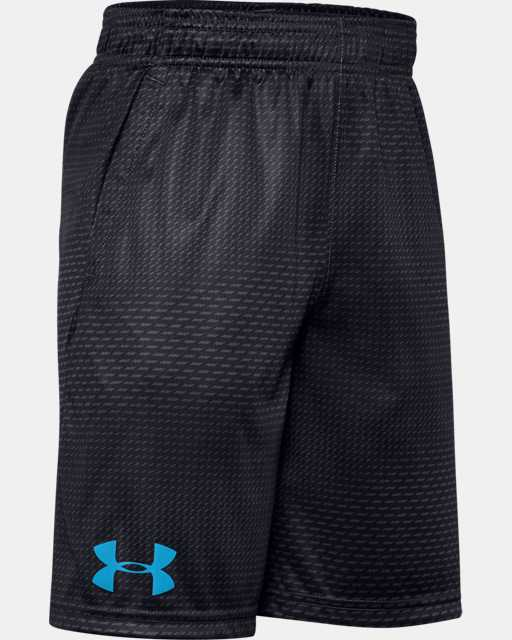 Boys' UA Velocity Printed Shorts