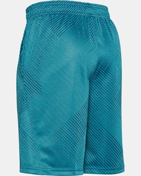 Boys' UA Velocity Jacquard Shorts, Green, pdpMainDesktop image number 1